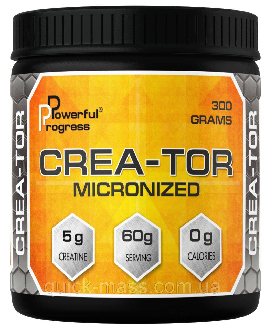 Креатин Crea-Tor Micronized Powerful Progress 300g