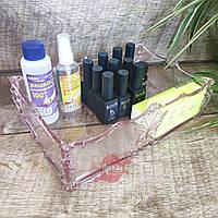 Пластиковый органайзер-подставка для косметики, аксессуаров (цвета в ассортименте), фото 1