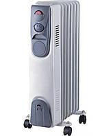 🔝 Обогреватель масляный, Luxel Oil-Filled Heater 7 Fins 1500W, конвектор электрический , радиатор , Распродажа, товары со скидками, акционные товары