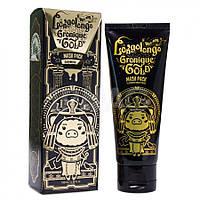 Омолаживающая золотая маска-пленка Elizavecca Hell-Pore Longolongo Gronique Gold Mask Pack, фото 1