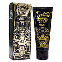 Омолоджуюча золота маска-плівка Elizavecca Hell-Pore Longolongo Gronique Gold Mask Pack 100 мл, фото 1