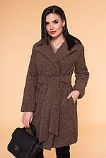 Шуба жіноча зимова Пріора 6011, розмір L, фото 3