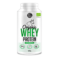 Органический сывороточный протеин + зеленые суперпродукты (whey protein with green mix) 500g Diet Food