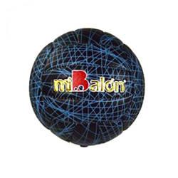 """Мяч волейбольный """"miBalon""""  (черно-синий)  sco"""