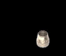 Версия-Люкс (Кривой-Рог) Конус утепленный (нерж в нерж) 0,5 мм, диаметр 100мм
