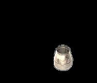 Версия-Люкс (Кривой-Рог) Конус утепленный (нерж в нерж) 0,5 мм, диаметр 140мм