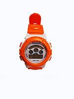 Часы детские Rounds  электронные в колбах. Оранжевый, фото 2