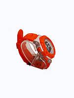 Часы детские Rounds  электронные в колбах. Оранжевый, фото 3