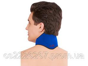 Повязка на шею с точечным нанесением турмалина, 1шт