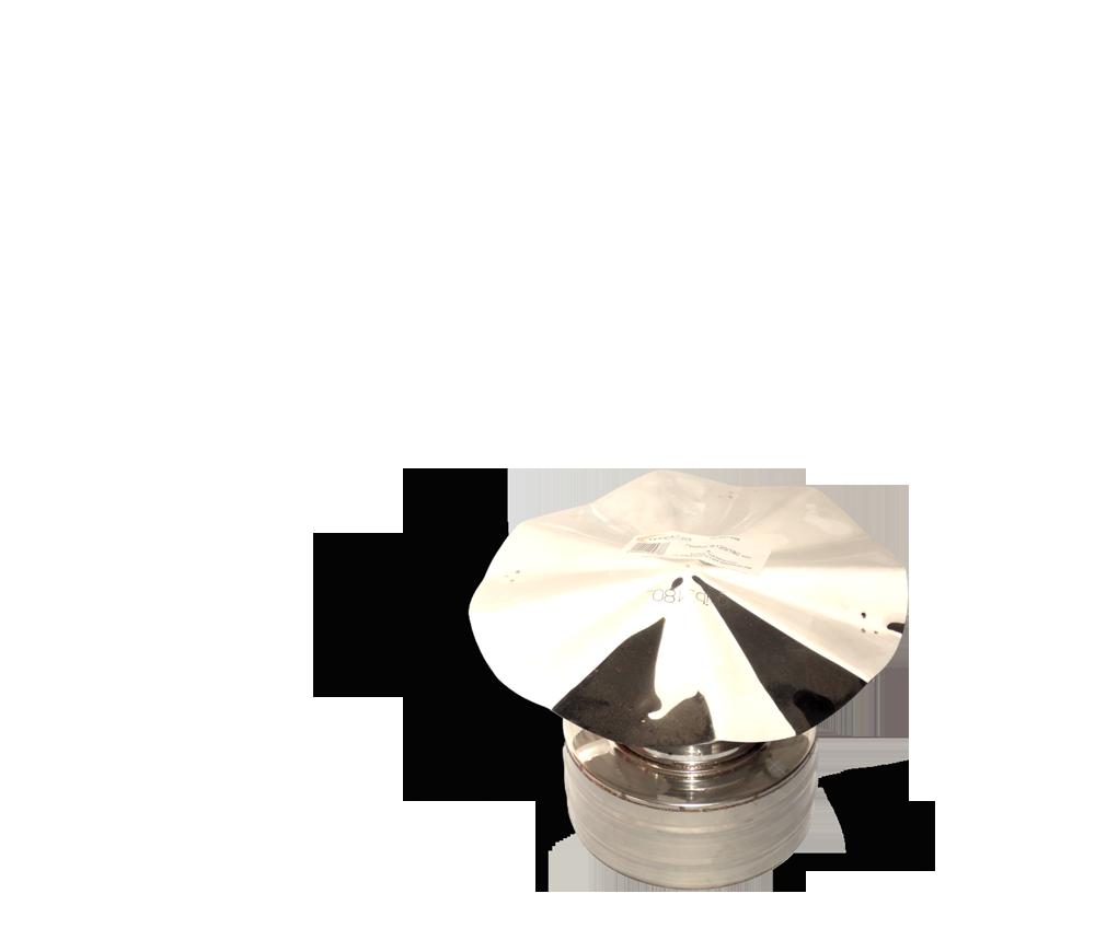 Версия-Люкс (Кривой-Рог) Грибок утепленный из нержавейки, диаметр 160мм