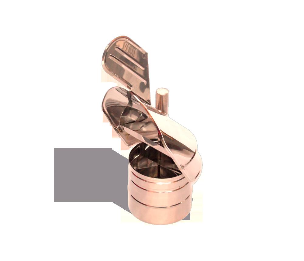 Версия-Люкс (Кривой-Рог) Флюгер из нержавейки 0,5 мм, диаметр 140мм
