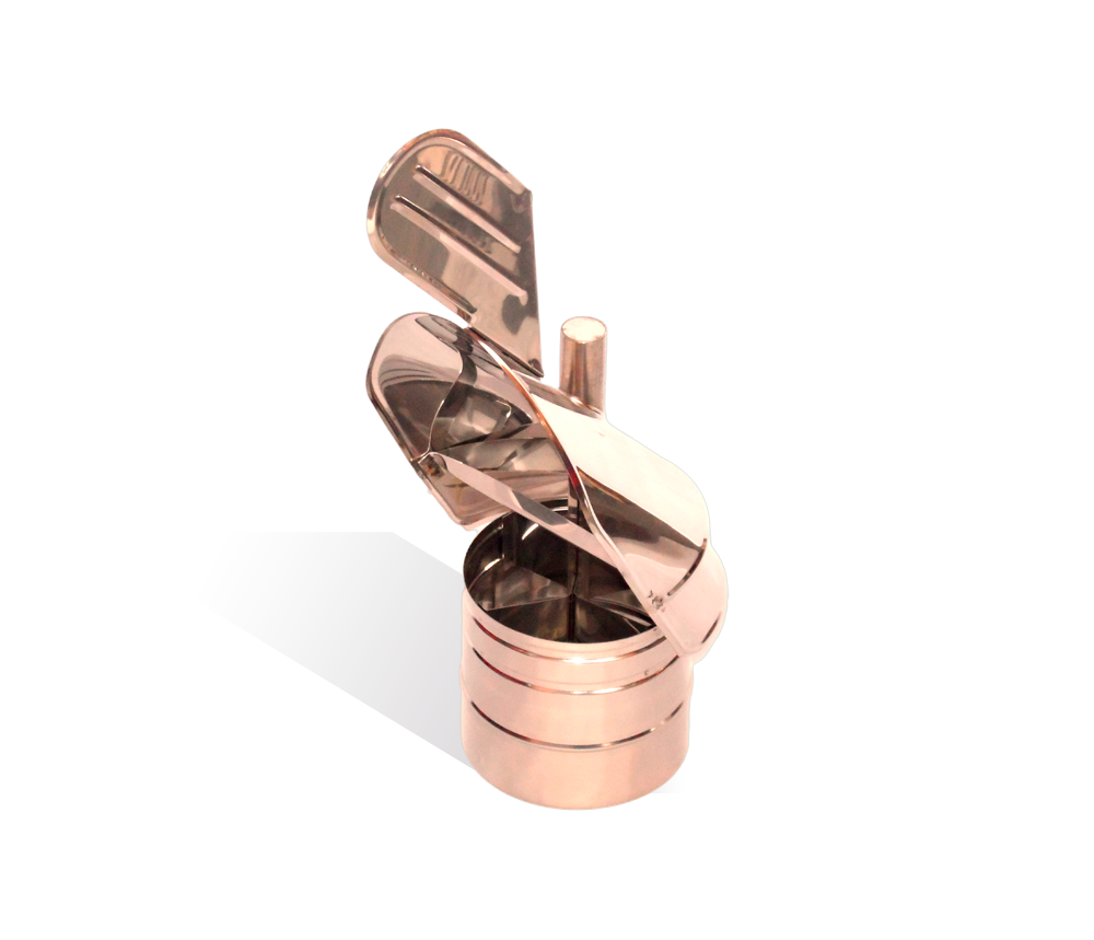 Версия-Люкс (Кривой-Рог) Флюгер из нержавейки 0,5 мм, диаметр 180мм