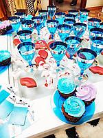 Бокал одноразовый стеклопластик для вина  для презентаций, выставки, конференции 6 шт 130 мл CFP, фото 1