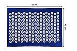 Аппликатор Кузнецова Коврик 40х55х1 см + Валик 36х15х8 см Universal Коралловый, фото 5