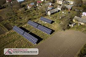 Мережева СЕС 30 кВт у с. Сухоріччя  1