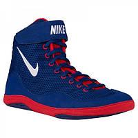 Борцовки Nike Inflict 3 имеют низкий силуэт и легкий верх, изготавливаемый из воздухопроницаемой сетки.