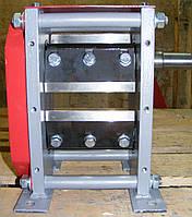 Двухвальный измельчитель веток ДС-60 (подрібнювач гілок, дробилка веток, садовый измельчитель)