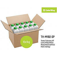 Тонер HP LJ Pro M102/M130/M203/M230 SERVICE PACK (10x1kg) ColorWay (TH-M102-SP)