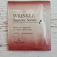 Антивозрастная сыворотка от морщин The Skin House Wrinkle Supreme Serum 1.5мл пробник