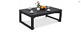Набор садовой мебели Corfu Fiesta Lyon Table Rattan Graphite ( графит ) из искусственного ротанга, фото 8