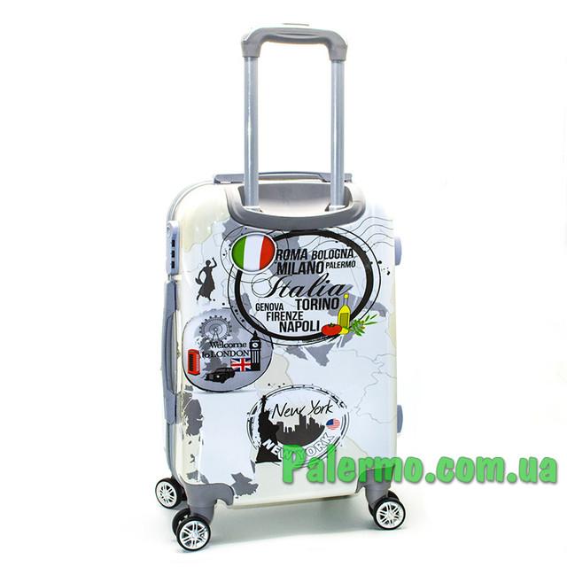 пластиковый дорожный чемодан Italy