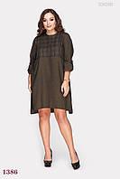 Платье Тихуана (оливковый) 1027622896