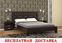 Кровать Виктория 160х200 (венге)