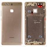 Задняя панель корпуса для смартфона Huawei P9 золотистого цвета