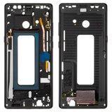Рамка крепления дисплея для смартфона Samsung N950FD Galaxy Note 8 Duos, черная