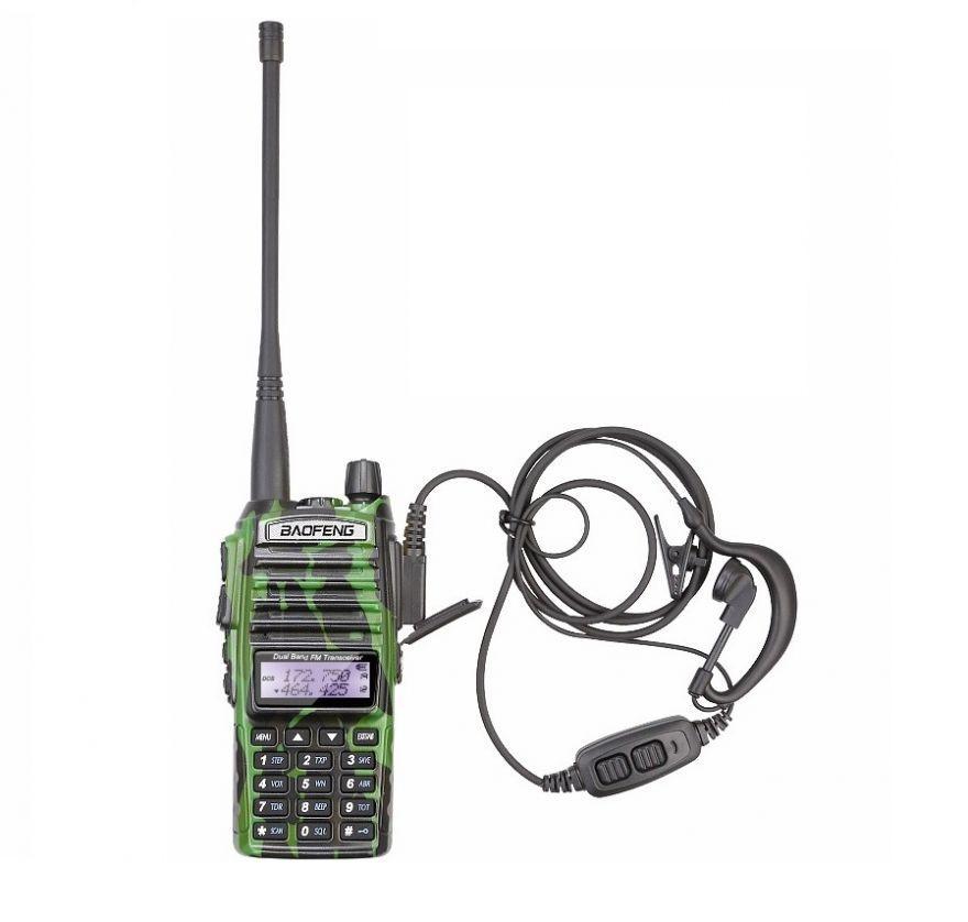 Рация Baofeng UV-5R (5W, VHF/UHF, 136-174 MHz/400-470 MHz, до 5 км)
