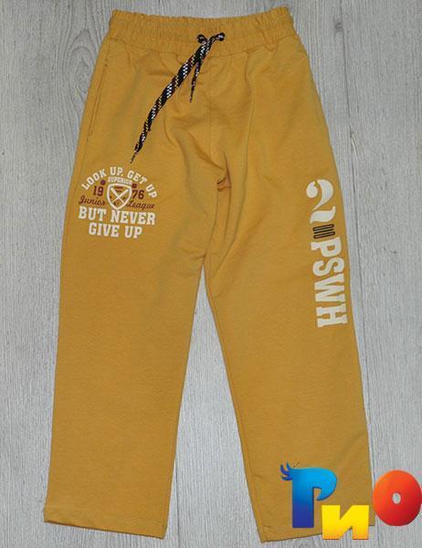 Детские спортивные штаны ,трикотаж, для мальчика рост 126, 164 см (2 ед в уп)