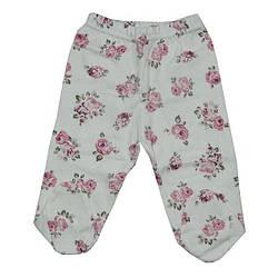 Детские штанишки, интерлок,  для девочки 3-6-9 мес. (6 ед в уп)