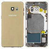 Корпус для смартфона Samsung G928F Galaxy S6 EDGE Plus, золотистый
