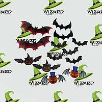 Декор настенный Летучие мыши Хэллоуин (уп. 12шт), фото 1