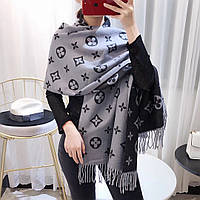 Палантин шарф теплый в стиле Louis Vuitton (Луи Витон) НОВИНКА