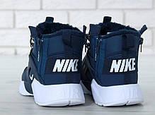 Мужские зимние кроссовки в стиле Nike Huarache x Acronym с мехом, фото 3