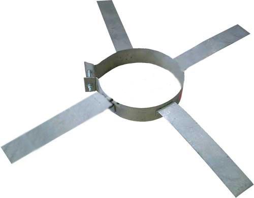 Версия-Люкс (Кривой-Рог) Хомут монтажный из нержавейки диаметр 200мм