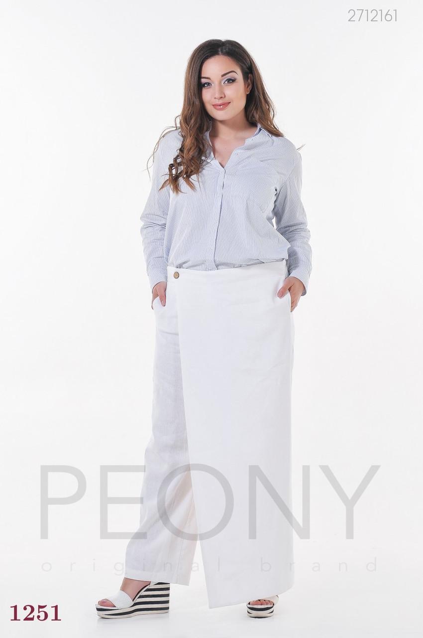 Женские брюки Сенегал (белый) 1046349161
