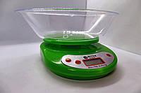 Весы бытовые кухонные с овальной чашей ВІТЕК  EK01 7 кг Электронные весы