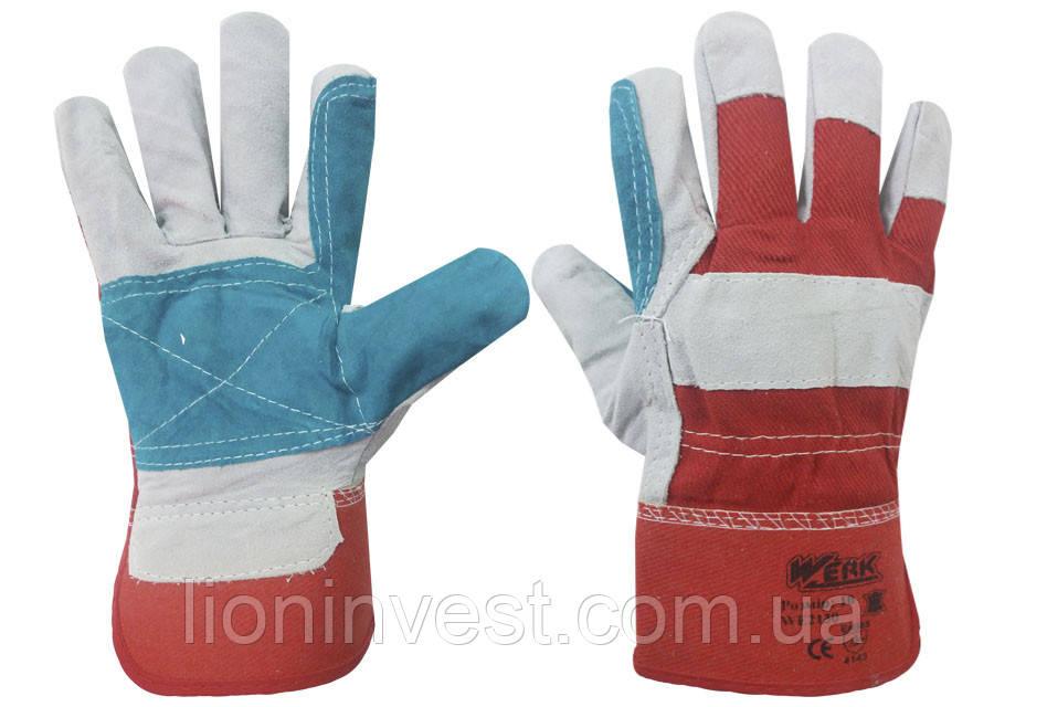 Перчатки рабочие комбинированные