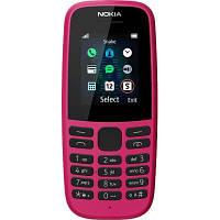 Мобильный телефон Nokia 105 DS 2019 Pink (16KIGP01A01), фото 1