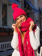 Шапка с шарфом KV7741