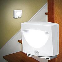 Универсальная  Led подсветка, светильник Mighty Light Night Lights светодиодная лампа с датчиком движения