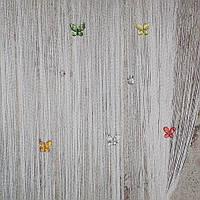 Шторы нити бабочки, фото 1