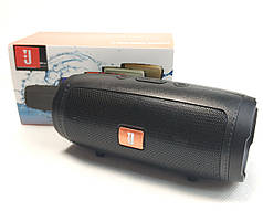 Портативная bluetooth колонка блютуз акустика для телефона мини с флешкой черная mini1+