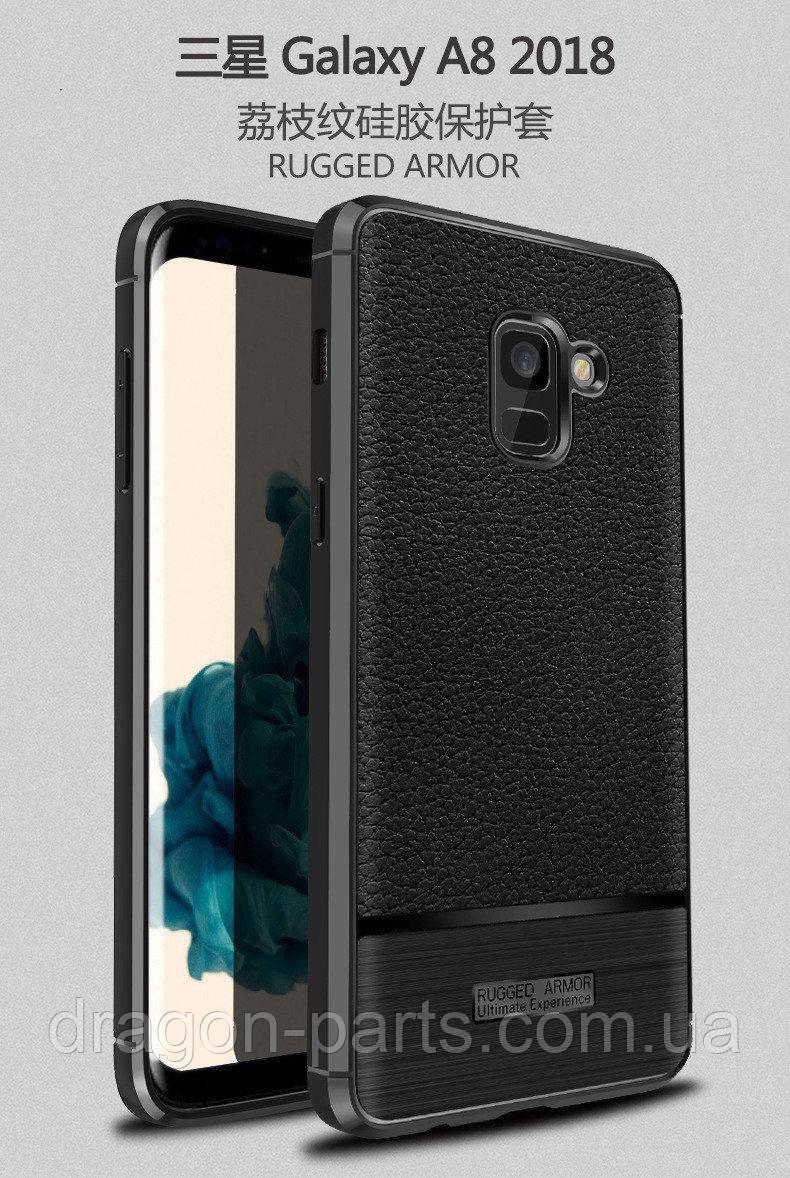 Чехол бампер Rugged Armor для Samsung Galaxy A8 Plus A730 2018