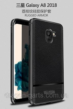 Чехол бампер Rugged Armor для Samsung Galaxy A8 Plus A730 2018, фото 2