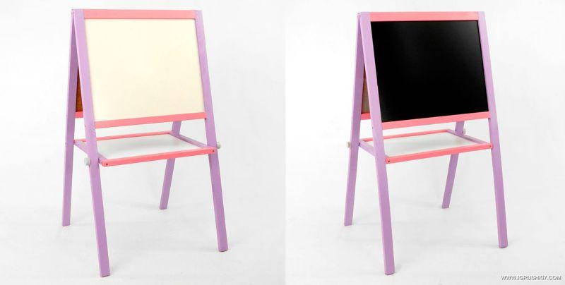 """Гр Мольберт 50*40 см. фиолетово-розовый (1) """"ИГРУША"""", фото 2"""