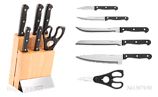 Набор ножей BergHOFF Essentials Quadra Duo из 7 предметов (1307030)