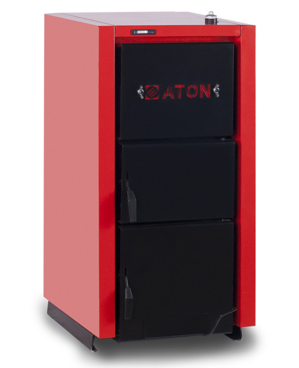 Сталевий твердопаливний котел Aton Multi 12